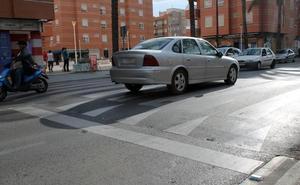 Cuatro heridos en la colisión de varios vehículos en Almería