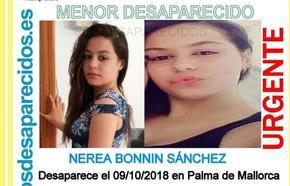 Buscan a una menor desaparecida en Mallorca que podría estar en Granada