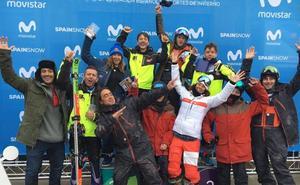 Luna Espín y Jordi Miró ganan en la Copa de España de Esquí Cross