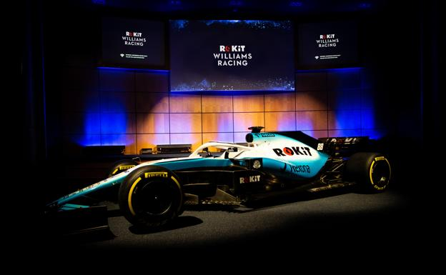 Coche de Williams para el Mundial 2019.