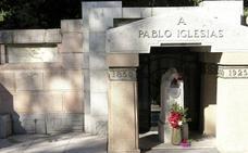 Profanan las tumbas de Pablo Iglesias y de La Pasionaria en el cementerio de la Almudena