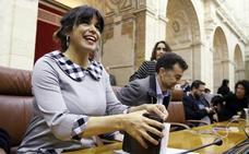 Teresa Rodríguez renuncia a percibir ayudas salariales durante su baja de maternidad