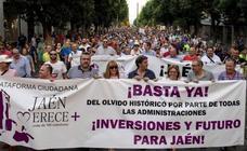 Jaén Merece Más anima a manifestarse en Madrid contra el «abandono histórico»