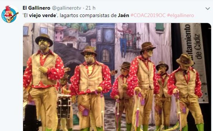 La Comparsa de Jaén, del Falla al cielo