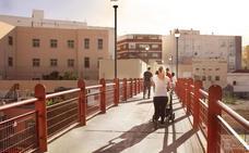 Comienzan las obras de reforma de la pasarela de Pescadería