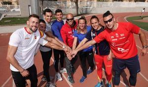 Así se preparan los atletas granadinos para el Campeonato de España