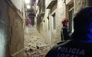 Se derrumba otra casa en el casco histórico de Jaén