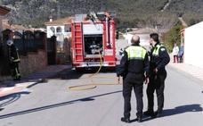 Extinguido un incendio en Alomartes sin heridos