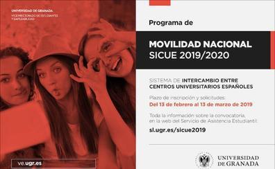 La Universidad de Granada abre el proceso de solicitud de movilidad SICUE
