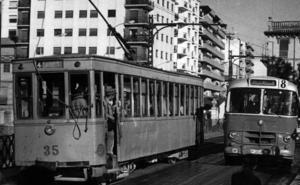 El último tranvía de Granada