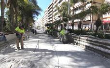 Almuñécar abrirá al tráfico el próximo viernes un renovado Paseo del Altillo