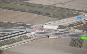 Las obras de la Segunda Circunvalación desviarán el tráfico en la A-92 cerca de Santa Fe