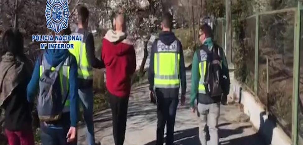 La mafia calabresa vuelve a esconderse en Granada atraída por el negocio de la 'maría'