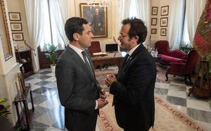 Moreno promete a los agricultores un pacto sobre el agua en Andalucía