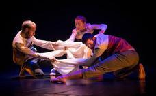 La compañía granadina Da.Te Danza estrena en Gijón su espectáculo 'Nudos'