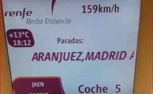 El número de viajeros con origen y destino Jaén aumenta un 6,2%