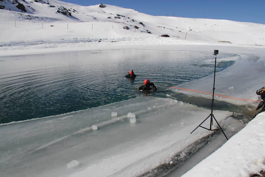 Inmersión bajo cero