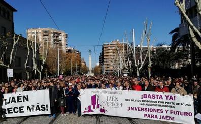 Manifestación de Jaén Merece Más en Madrid el próximo 31 de marzo