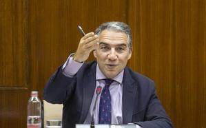 Bendodo defiende la solidez del Gobierno PP-Cs en el primer rifirrafe con la oposición en el Parlamento