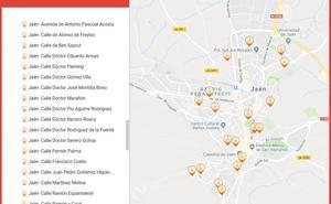 19 calles de la ciencia en Jaén