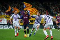 Las mejores imágenes del Barcelona-Valladolid