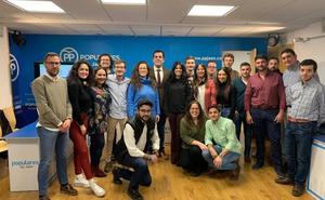 Nuevas Generaciones renueva su junta directiva en Jaén