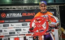 Toni Bou gana en Bilbao y llegará a Granada como líder del Campeonato Mundial de X-Trial