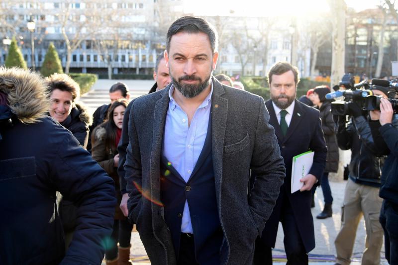 Abascal amenaza con no aprobar los Presupuestos de la Junta de Andalucía
