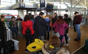 El vuelo entre París y Granada, con más de tres horas y media de retraso