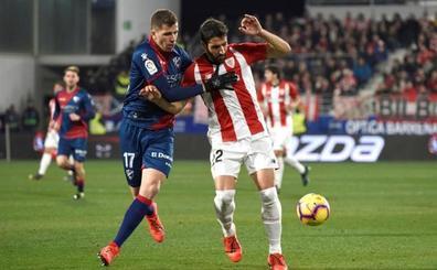 El Athletic respira y corta las alas al Huesca