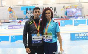 Dos medallas de oro nacionales para una generación de velocistas que sigue hambrienta