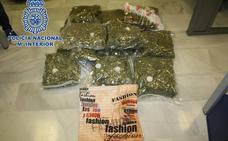 Una red china exportaba marihuana desde Granada a Francia e Inglaterra camuflada en cojines