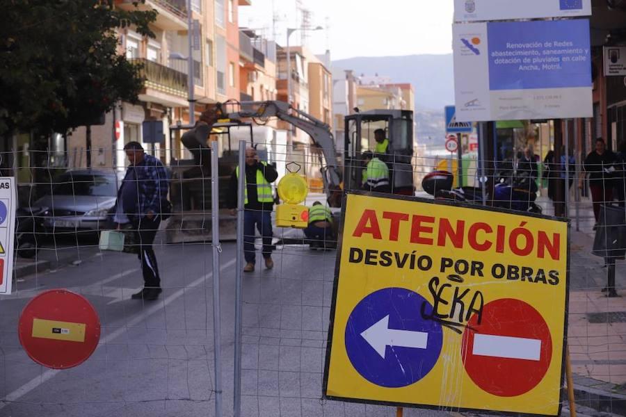 La calle Ancha cierra al tráfico por completo