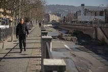 Así son las obras para limpiar el río Genil a su paso por Granada
