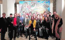 Inauguracion de Miguel Scheroff en Baeza