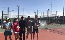 José Miguel Fernández y Adriana Stromnes ganan el Provincial cadete