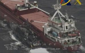 El puerto de Almería subasta un narcobarco cazado con 16 toneladas de hachís
