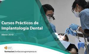 La Fundación General UGR coordina siete cursos prácticos de implantología dental