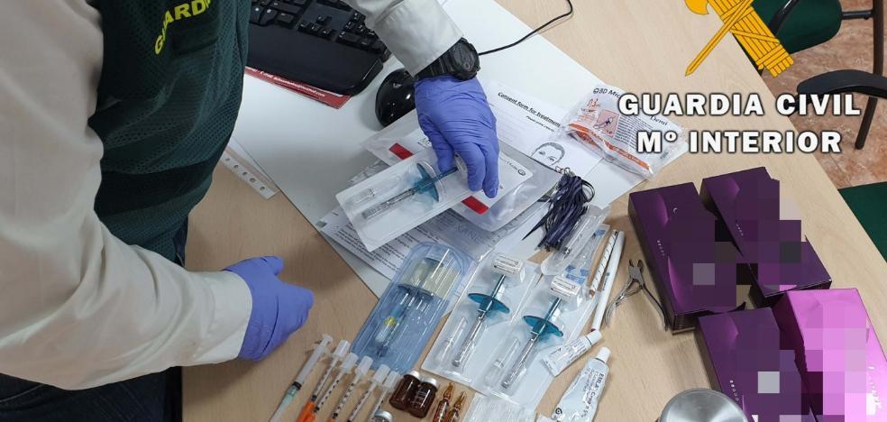Detenida en Mojácar por realizar tratamientos estéticos sin licencia