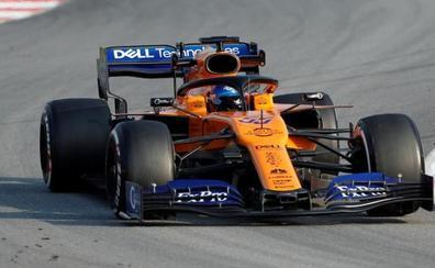 Sainz aprende a sufrir con McLaren