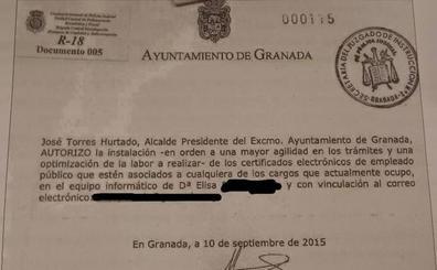 La secretaria del exalcalde era «la canalizadora principal» de todas sus comunicaciones, según la UDEF