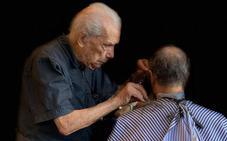 El peluquero de 108 años que sigue en activo