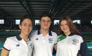 Los nadadores del Churriana destacan con la selección andaluza