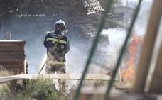Extinguido el conato de incendio en Ogíjares