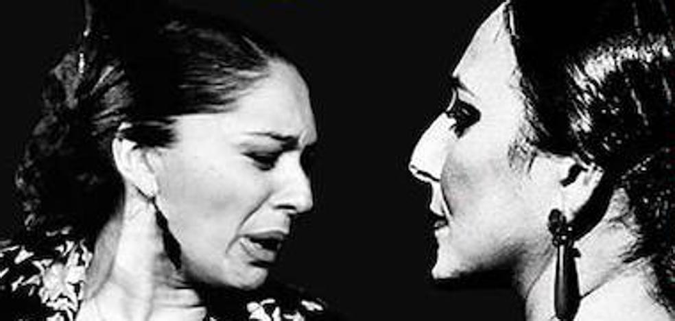 Una docena de flamencas, en un homenaje a la lucha de la mujer