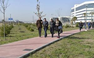 El Ayuntamiento de Granada recepciona el nuevo 'pulmón verde' de la ciudad