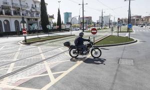 Muere un ciclista de 24 años tras ser atropellado en la zona del Palacio de Deportes de Granada
