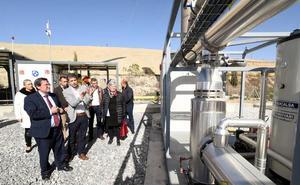Abren en Alhendín una planta de biogás que genera energía como para mantener metro de Granada