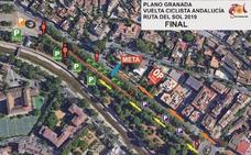 Estas son las calles que se cortarán al tráfico el sábado por la Vuelta Ciclista en Granada