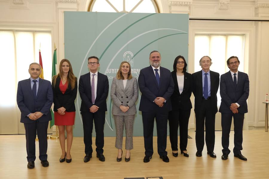 Los nuevos delegados de la Junta en Granada se presentan en La Normal